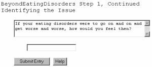 BeyondEatingDisorders - Free Self-Counseling Softw 2.10.04 screenshot