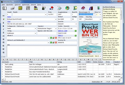 Bibliothek 2010.10.27 screenshot
