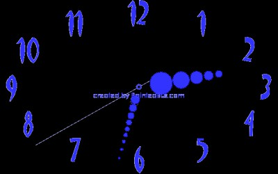 Big Clock Screen Saver 1.6 screenshot