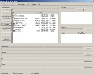 BigSpeed File Sharing Library 2.0 screenshot