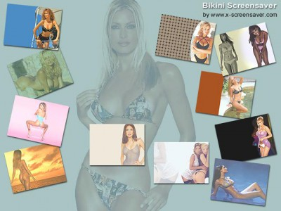 Bikini Screensaver 1.6 screenshot
