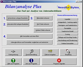Bilanzanalyse Plus 2.0.12 screenshot