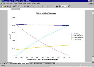 Billing Model Excel 40 screenshot