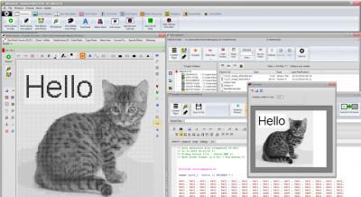 Bitmap2LCD 3.9d screenshot