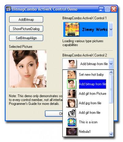 BitmapCombo ActiveX Control 1.0.2.1 screenshot