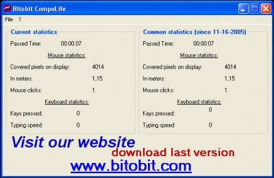 Bitobit Compolife 1.03 screenshot