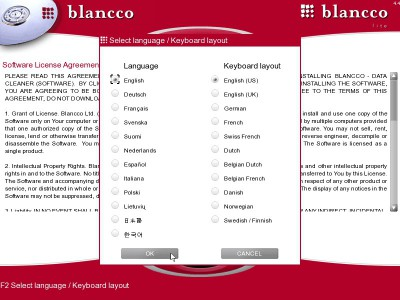 Blancco - Lite 4.6 screenshot