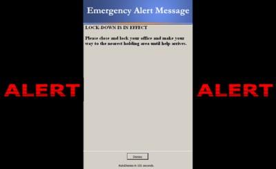 Blaser Emergency Alert Messaging System 2.9 screenshot
