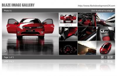 Blaze Image Gallery 2.0.3 screenshot