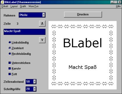 BlitzLabel 1.8 screenshot
