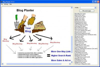 Blog Planter 1.0.12 screenshot
