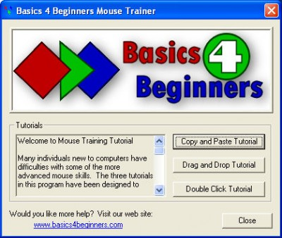 Blue Mouse Tutorial 2.8 screenshot