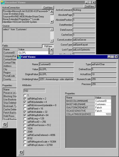 blueshell ADO Survey Kit 3.00.0013 screenshot