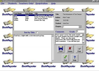 Book Reporter 5.1 screenshot