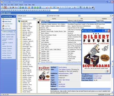 BookCAT - Book Database 8.22.04 screenshot