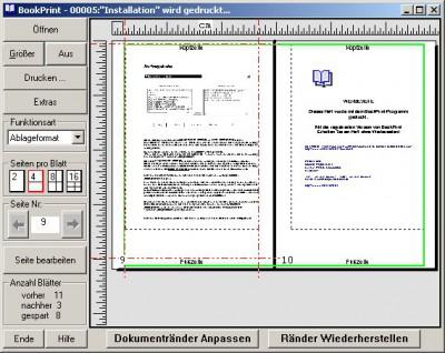 BookPrint 1.9 screenshot