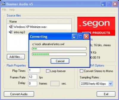 Boomer Audio 5.0 screenshot