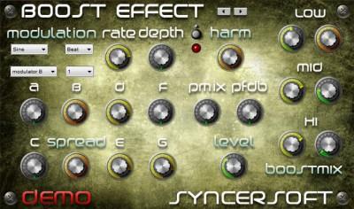 Boost Effect 1.0 screenshot