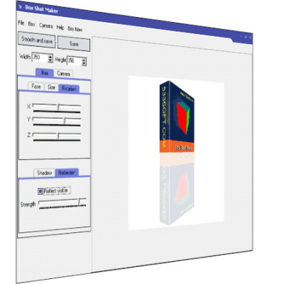 Box Shot Maker 5.1736 screenshot