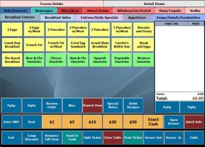 BPA Restaurant Professional 8.2 screenshot
