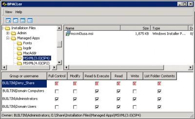 BPACLer не создает какие-либо новые ключи в реестре, не меняет
