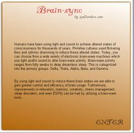 Brain-Sync 1.0 screenshot