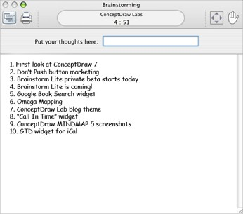 Brainstorm Lite 1.0 screenshot