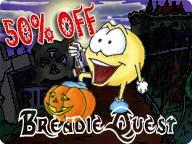 BreadieQuest:Halloween III 3.1 screenshot