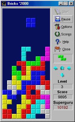 Bricks'2000 1.1a screenshot
