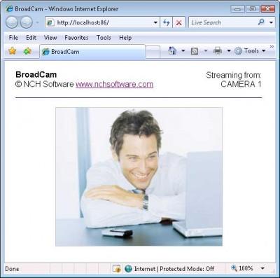 BroadCam Streaming Video Server 2.01 screenshot