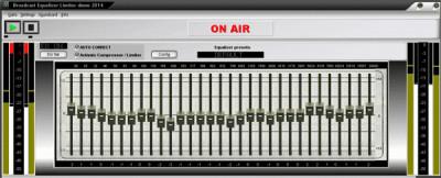 Broadcast Equalizer Limiter 2016 screenshot