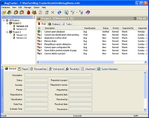 Bug Tracking/Defect Tracking 5 User License 2.9.3 screenshot