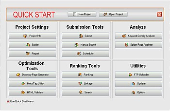 BuildTraffic - Search Engine Submission Optimizati 7.0 screenshot