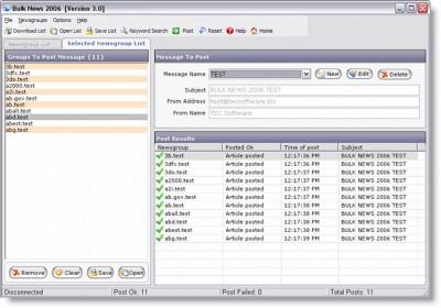 Bulk News 2004 2.0 screenshot