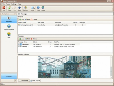 Bulk News 2009 2.1 screenshot