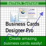 Business Cards Designer Pro 1.0 screenshot