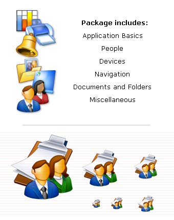 Business Icons Collection (XP) 3.0 screenshot