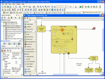 Business Process Visual ARCHITECT (ME) 4.0 screenshot