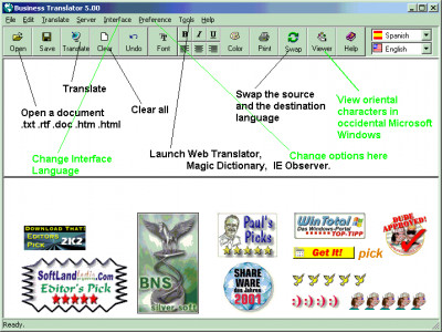 Business Translator 9.27 screenshot