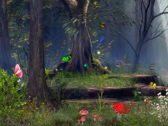 Butterfly Woods - Screen Saver 5.07 screenshot