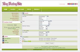 Buy Dating Site - Singles Software 7.3 screenshot