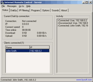 BySoft Internet Remote Control 2.7.5.192 screenshot