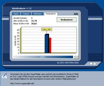 ByteReducer 1.30 screenshot