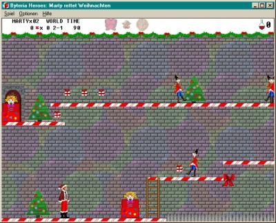 Byteria Heroes: Marty rettet Weihnachten 1.6 screenshot
