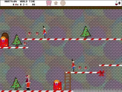 Byteria Heroes: Marty rettet Weihnachten 2.2 screenshot