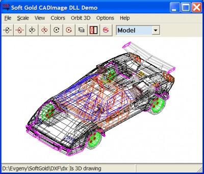 CAD Image DLL 8 screenshot