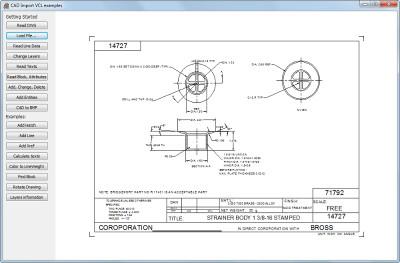 CAD VCL: 2D/3D CAD in Delphi/C++Builder 14 screenshot