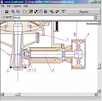 CAD View Plugin for Total Commander 8.0 screenshot