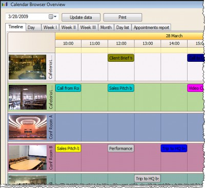 Calendar Browser 9 screenshot