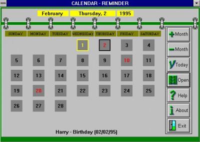 Calendar/Reminder 4.2 screenshot